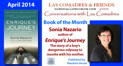 April 2014: Sonia Nazario, author of Enrique's Journey, published by Random House