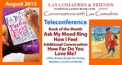 August 2013 Teleconference: Diana López, Lulu Delacre