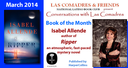 March 2014 Book of the Month | Ripper by Isabel Allende