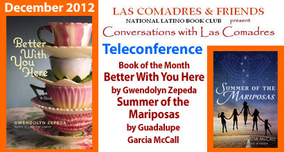 December 2012 Teleconference: Gwendolyn Zepeda, Guadalupe Garcia McCall