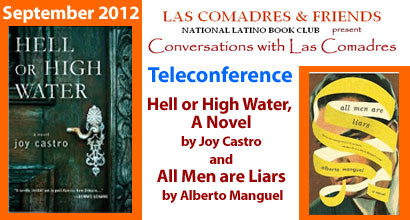 September 2012 Teleconference: Joy Castro, Alberto Manguel