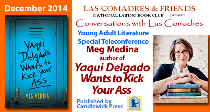 December 2014 Young Adult Literature Teleconference: Meg Medina
