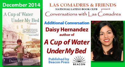 A Cup of Water Under My Bed: December 2014 Additional Conversation