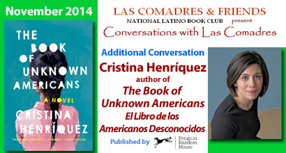 The Book of Unknown Americans: November 2014 Additional Conversation