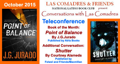 October 2015 Teleconference: Juan Gómez-Jurado, Courtney Alameda