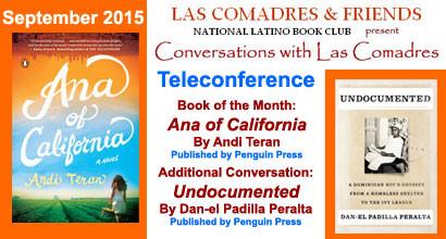 September 2015 Teleconference: Andi Teran, Dan-el Padilla Peralta