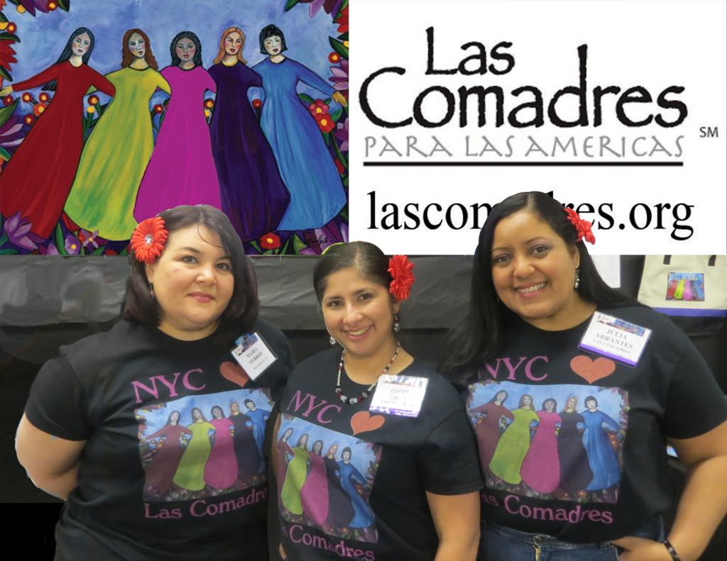 Maria C. Ferrer, Edith Milagros Reyes, and Julia Abrantes