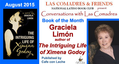 The Intriguing Life of Ximena Godoy: August 2015 Book of the Month