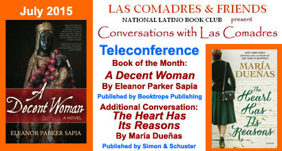 July 2015 Teleconference: Eleanor Parker Sapia, Maria Duenas