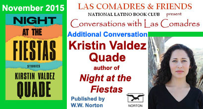 Night at the Fiestas: November 2015 Additional Conversation