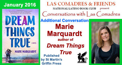 Dream Things True: January 2016 Additional Conversation With