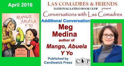 Mango, Abuela Y Yo: April 2016 Additional Conversation With